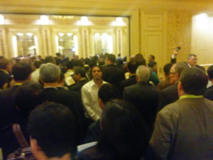 CES crowd after keynote