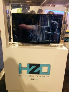 HZO tv at CES2015- front