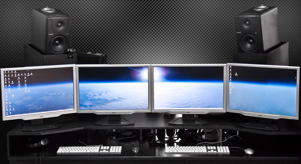 how to use one wallpaper for dual monitors mac